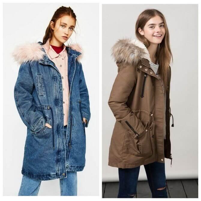 Модные осенние куртки для девочек 2020-2021 1
