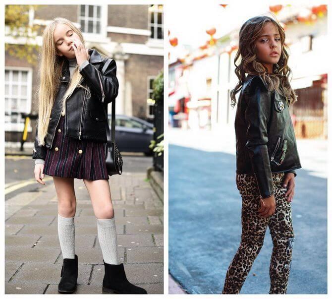 Модные осенние куртки для девочек 2020-2021 13