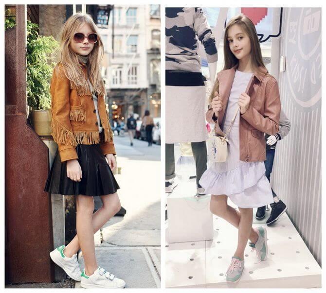 Модные осенние куртки для девочек 2020-2021 14
