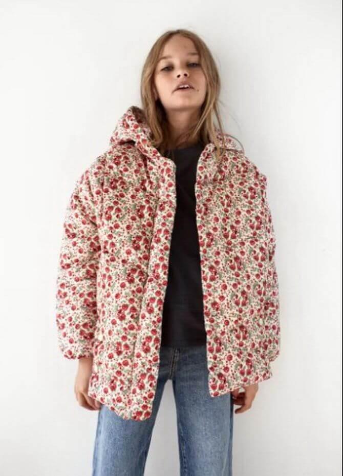 Модные осенние куртки для девочек 2020-2021 17