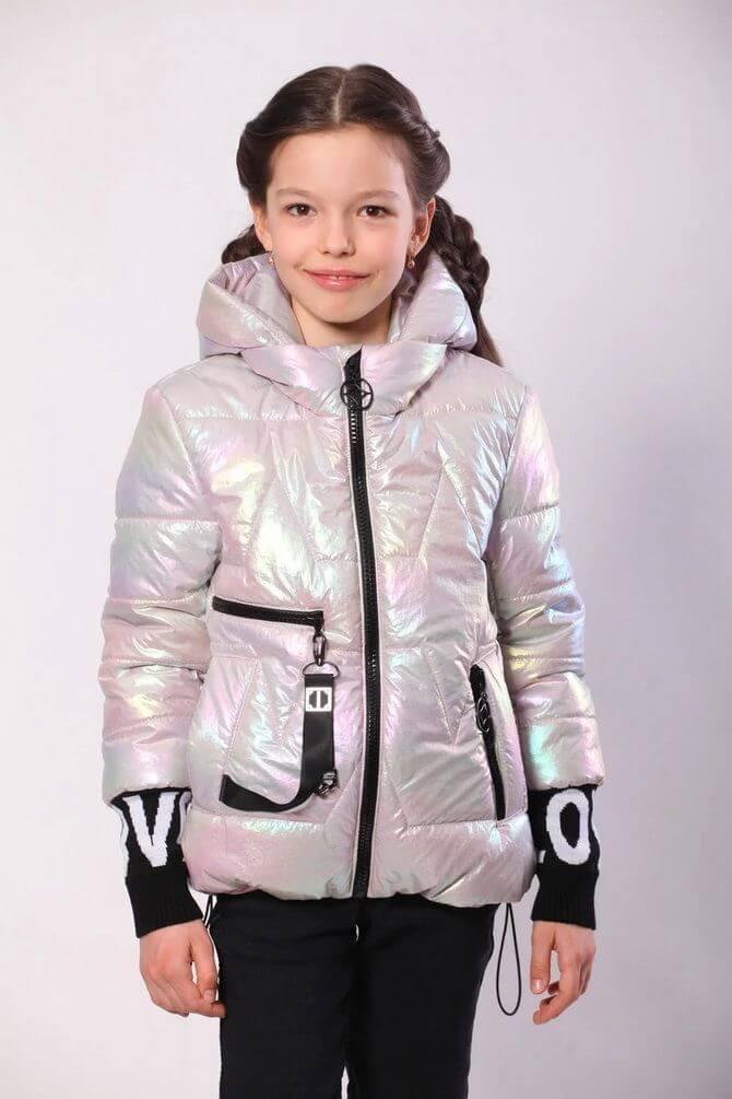 Модные осенние куртки для девочек 2020-2021 18