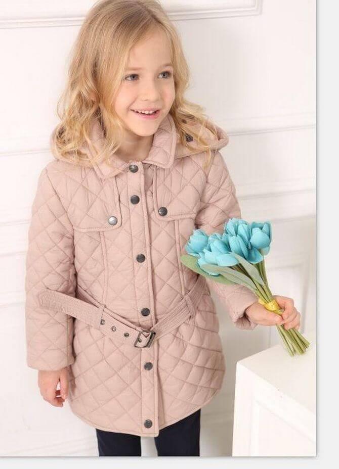 Модные осенние куртки для девочек 2020-2021 19