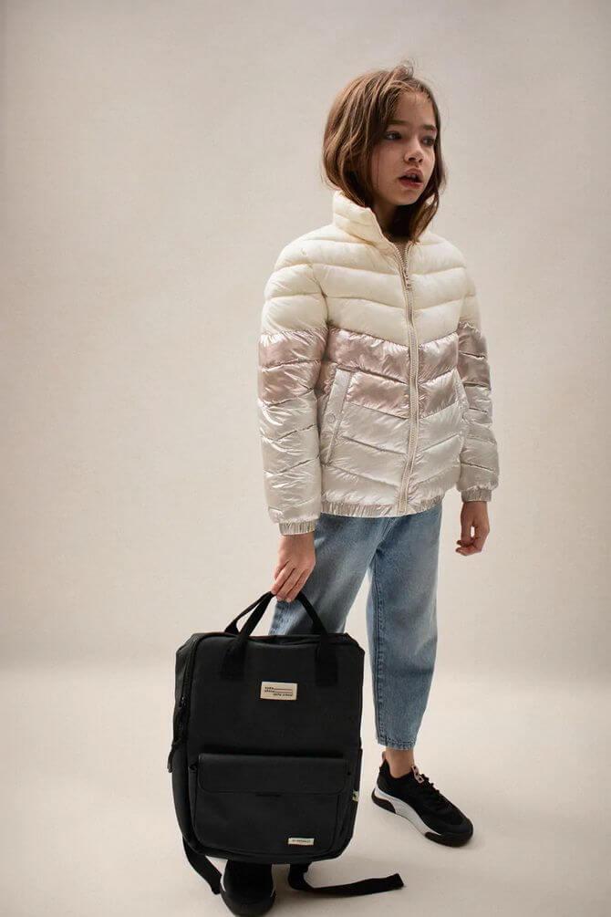 Модные осенние куртки для девочек 2020-2021 20