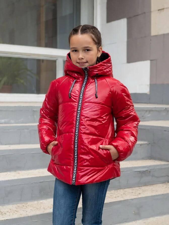 Модные осенние куртки для девочек 2020-2021 21