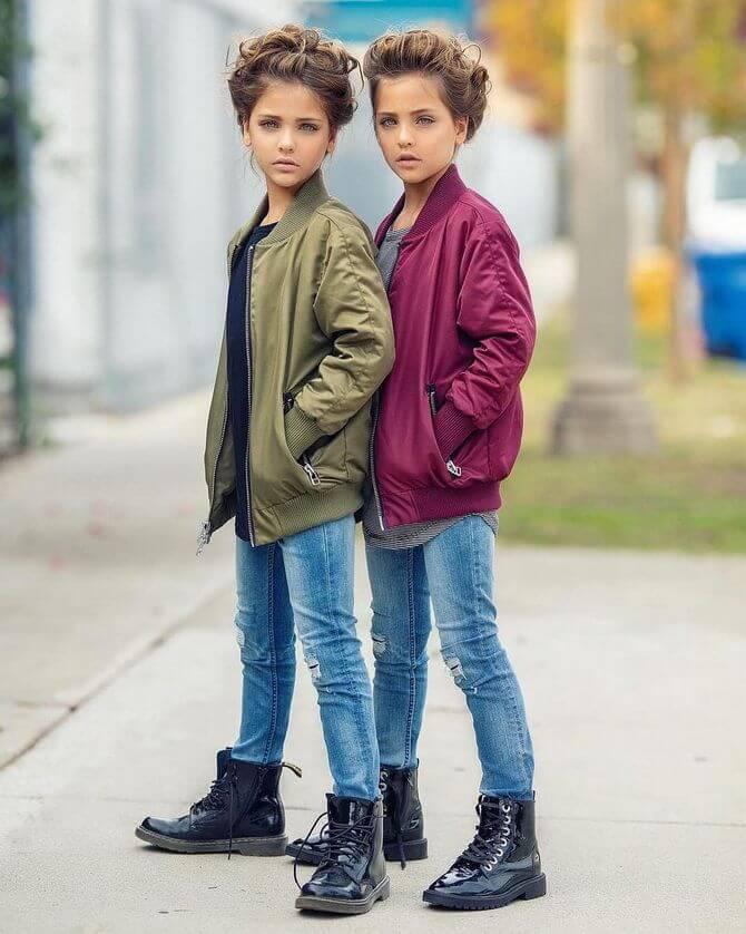 Модные осенние куртки для девочек 2020-2021 22