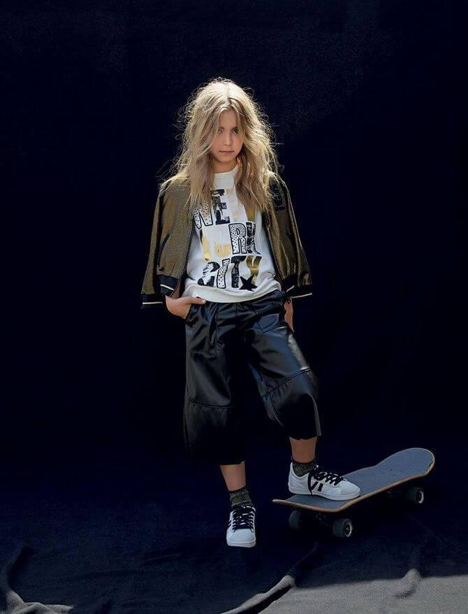 Модные осенние куртки для девочек 2020-2021 23
