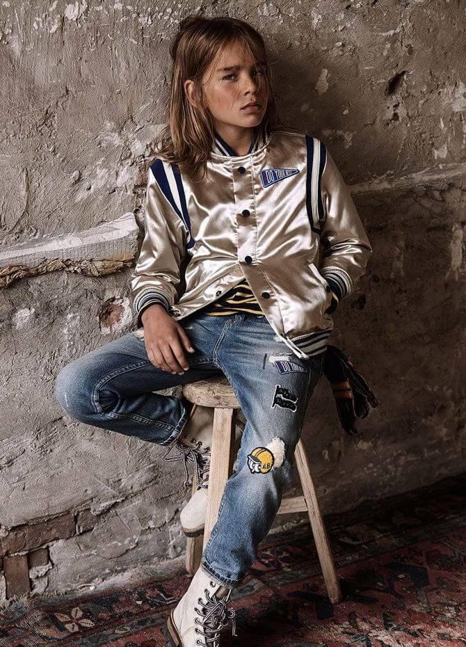 Модные осенние куртки для девочек 2020-2021 25