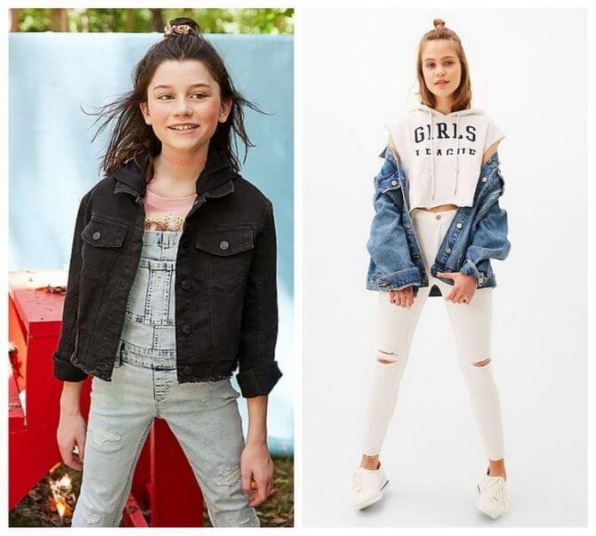 Модные осенние куртки для девочек 2020-2021 9