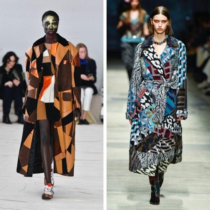Одежда в стиле пэчворк — модная тенденция 2021 10