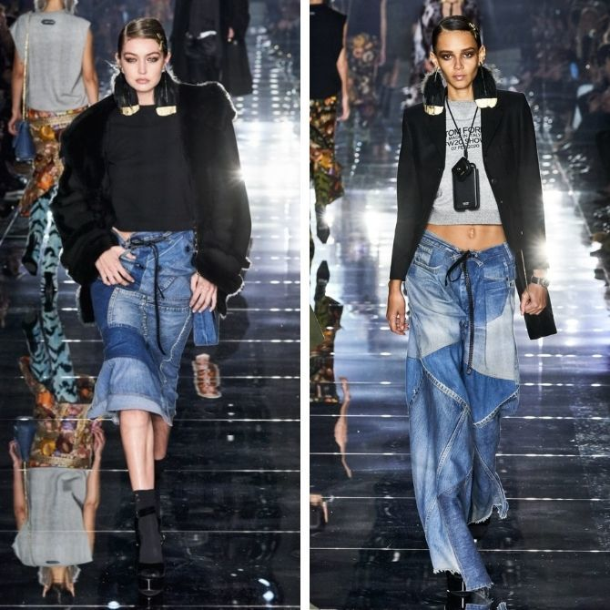 Одежда в стиле пэчворк — модная тенденция 2021 12