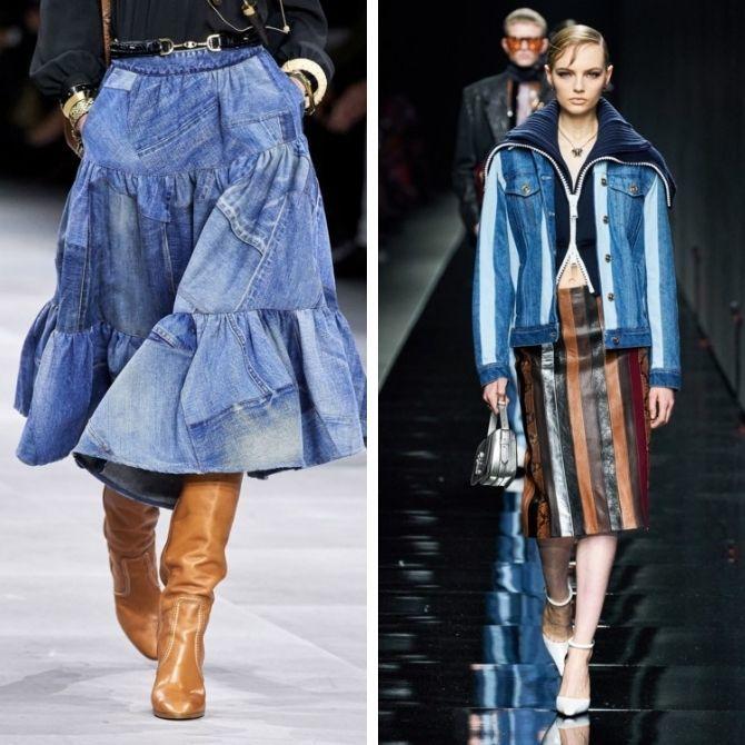Одежда в стиле пэчворк — модная тенденция 2021 13