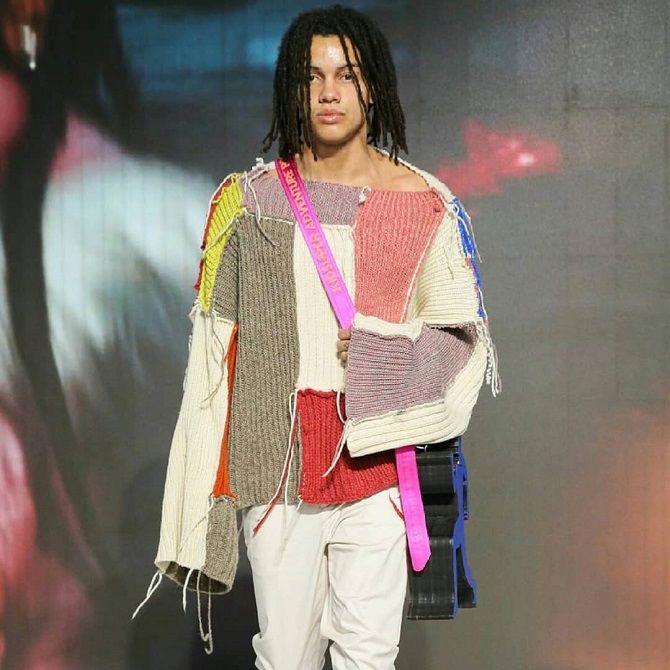 Одежда в стиле пэчворк — модная тенденция 2021 16
