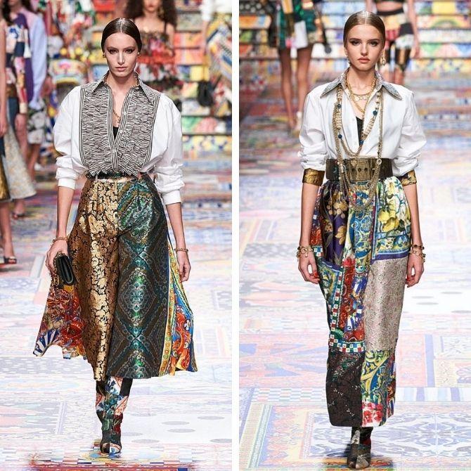 Одежда в стиле пэчворк — модная тенденция 2021 2