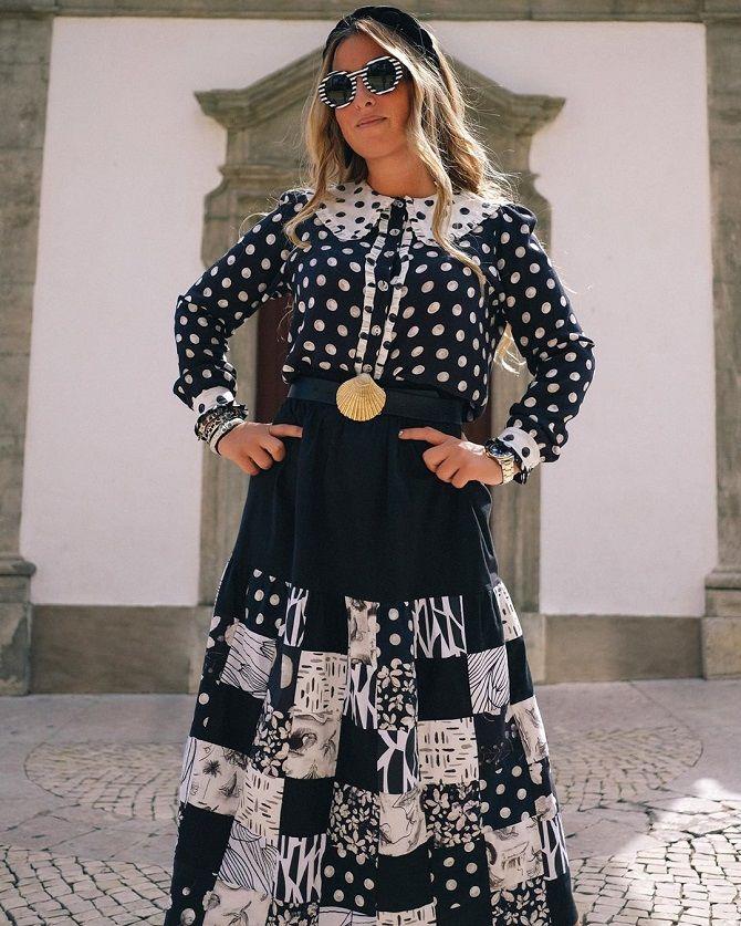 Одежда в стиле пэчворк — модная тенденция 2021 22