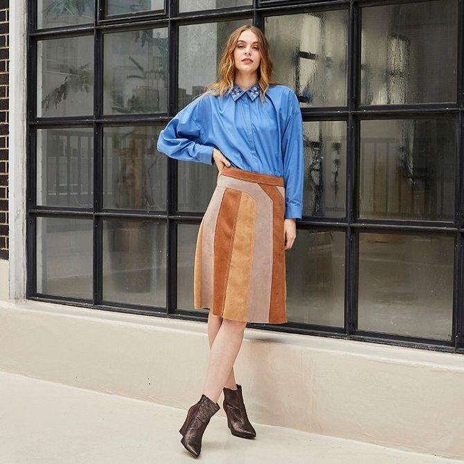 Одежда в стиле пэчворк — модная тенденция 2021 24