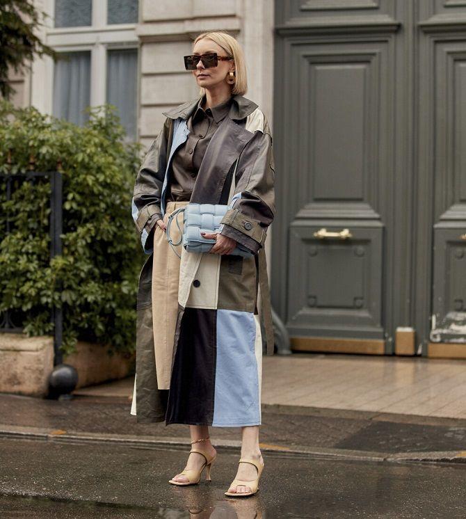 Одежда в стиле пэчворк — модная тенденция 2021 25
