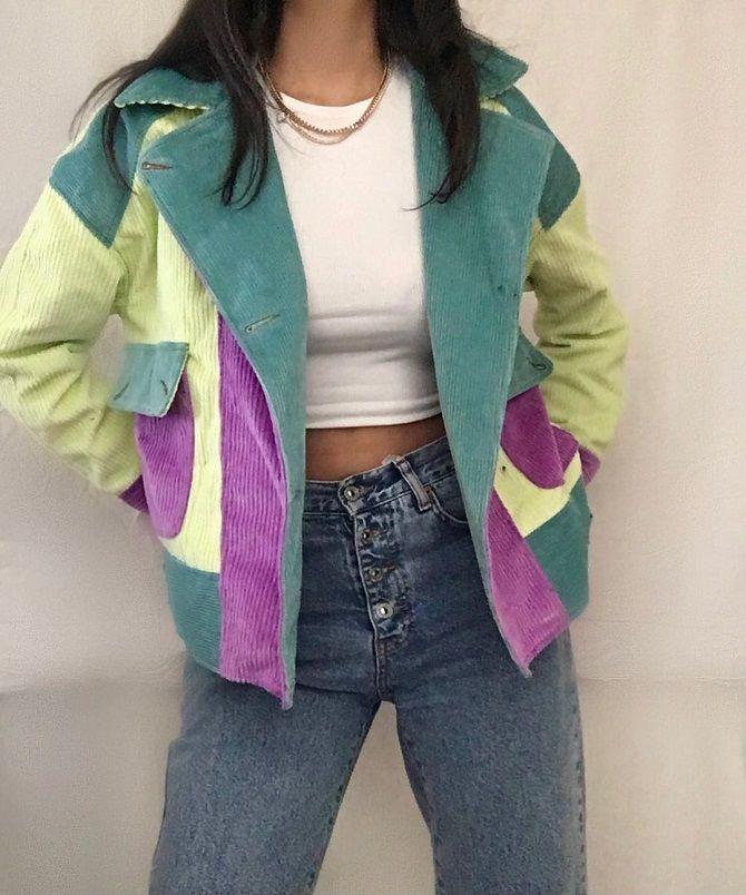 Одежда в стиле пэчворк — модная тенденция 2021 27