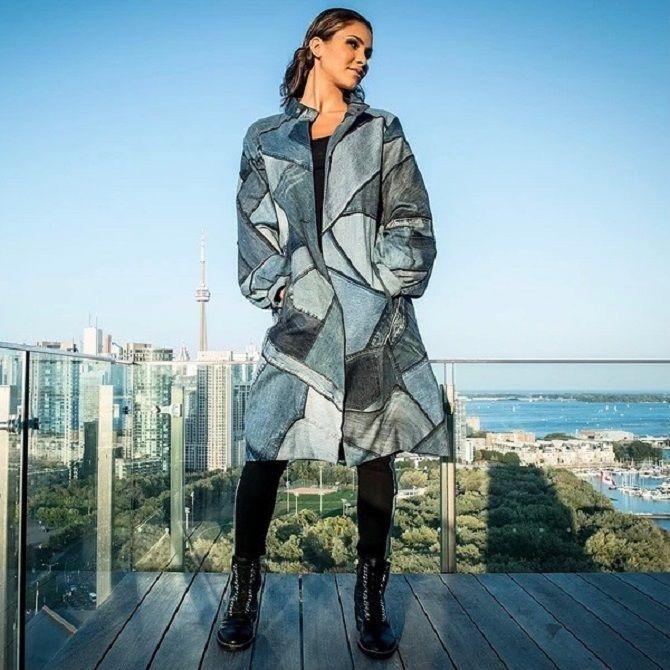 Одежда в стиле пэчворк — модная тенденция 2021 29