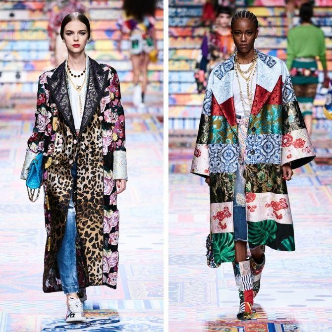 Одежда в стиле пэчворк — модная тенденция 2021 3