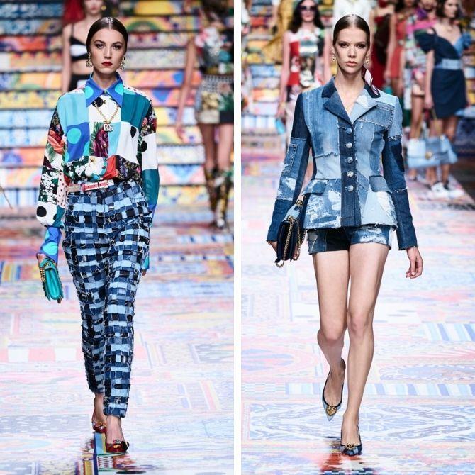 Одежда в стиле пэчворк — модная тенденция 2021 4