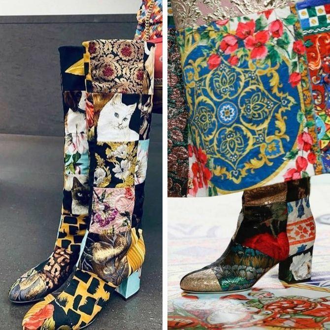 Одежда в стиле пэчворк — модная тенденция 2021 5