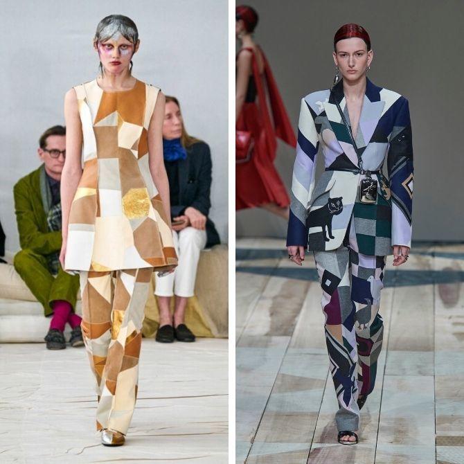 Одежда в стиле пэчворк — модная тенденция 2021 6