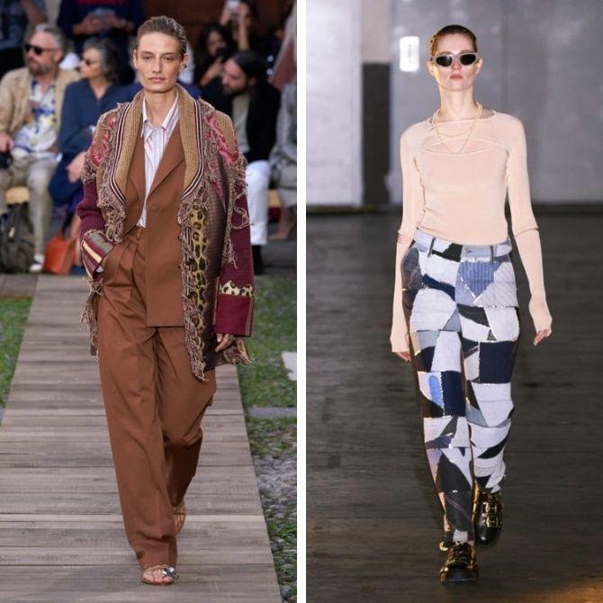 Одежда в стиле пэчворк — модная тенденция 2021 7