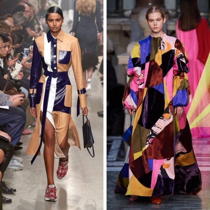 Одежда в стиле пэчворк — модная тенденция 2021 8