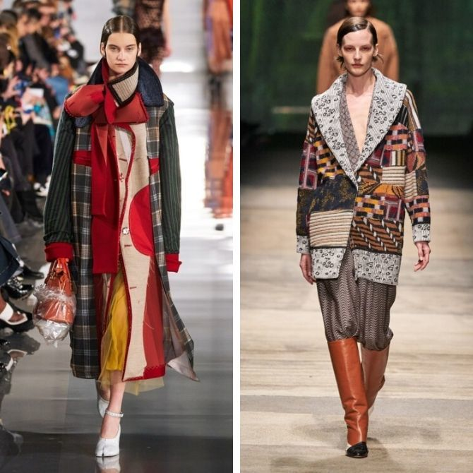 Одежда в стиле пэчворк — модная тенденция 2021 9