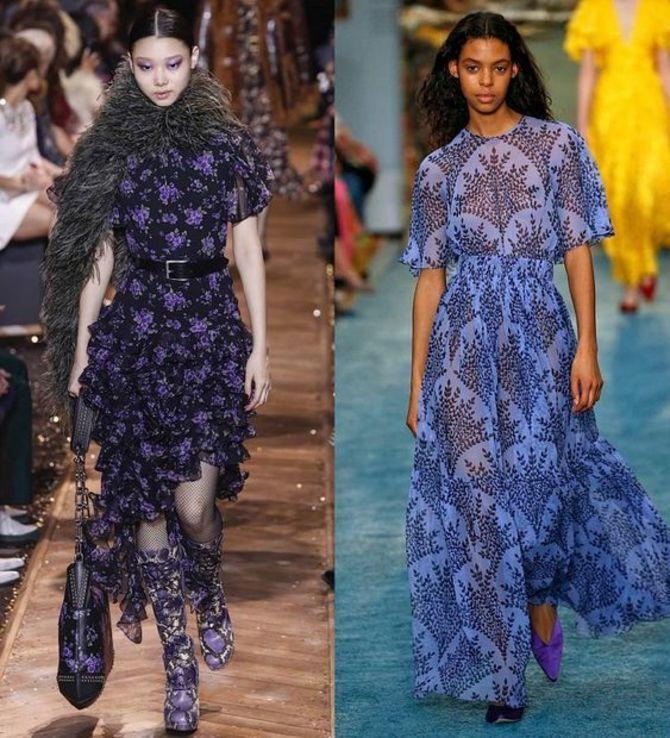 Шифоновые платья 2020-2021 1