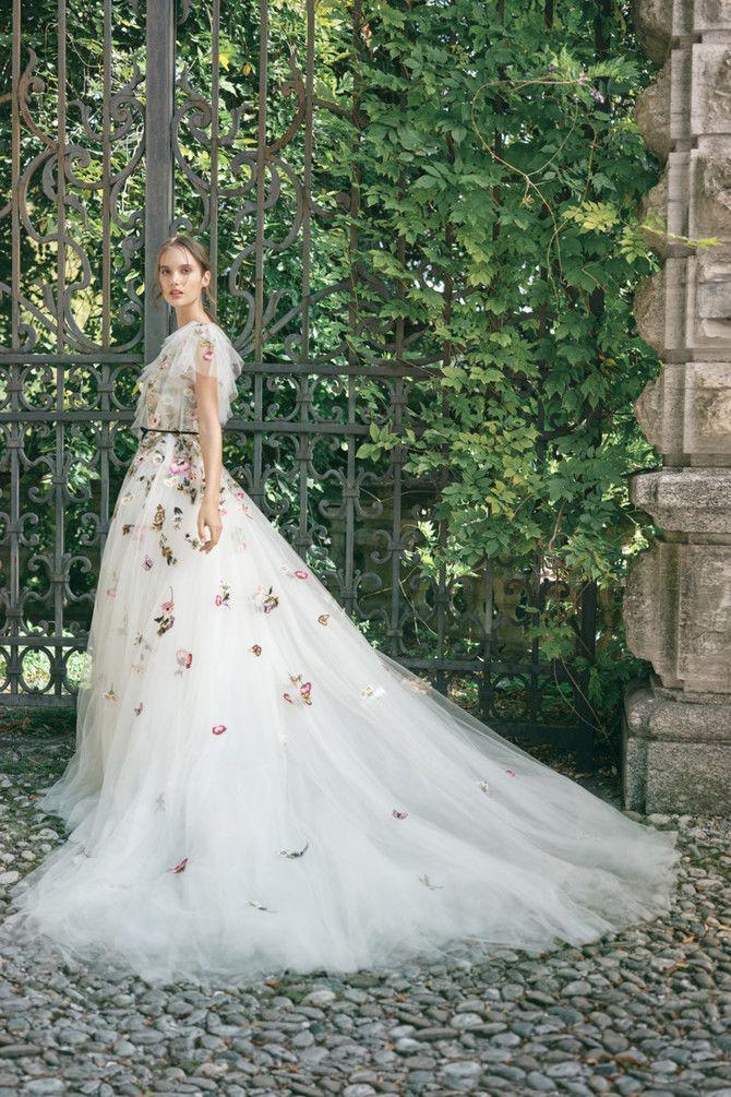 Как принцесса: пышные свадебные платья 2020-2021 10