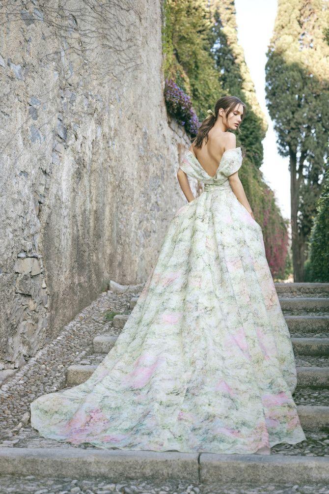 Как принцесса: пышные свадебные платья 2020-2021 11