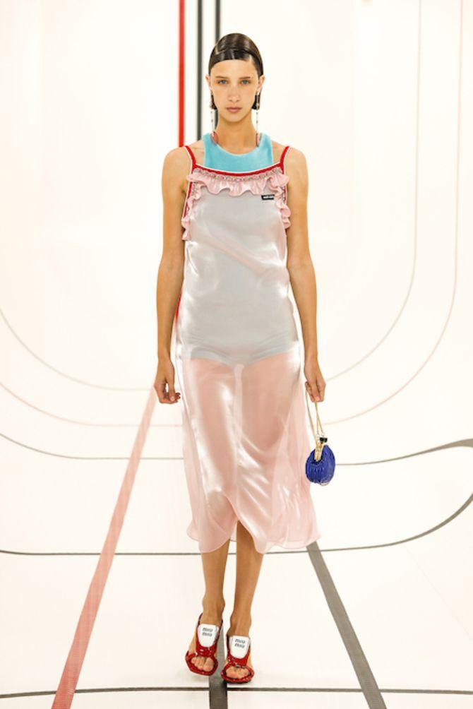 Шифоновые платья 2020-2021 13