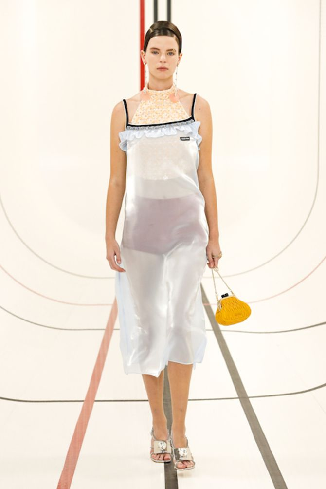 Шифоновые платья 2020-2021 14