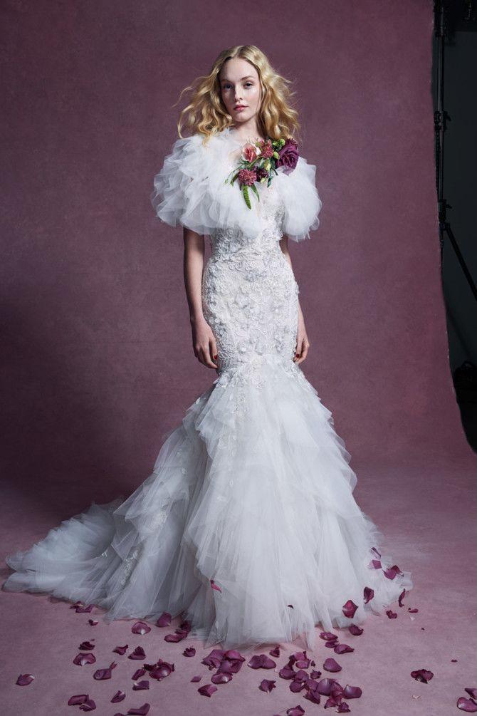 Как принцесса: пышные свадебные платья 2020-2021 17