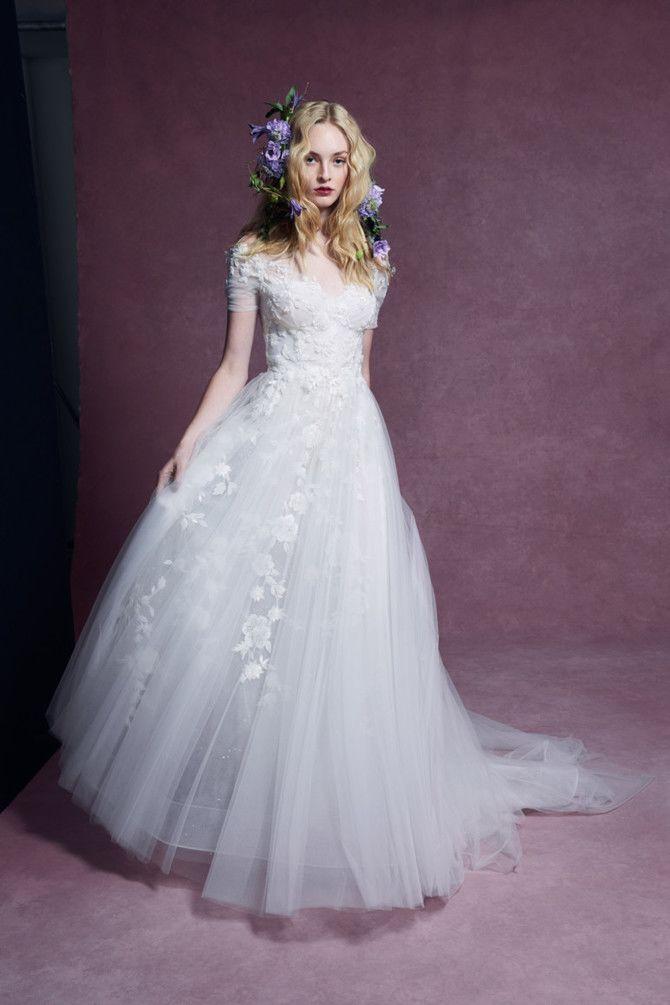 Как принцесса: пышные свадебные платья 2020-2021 19