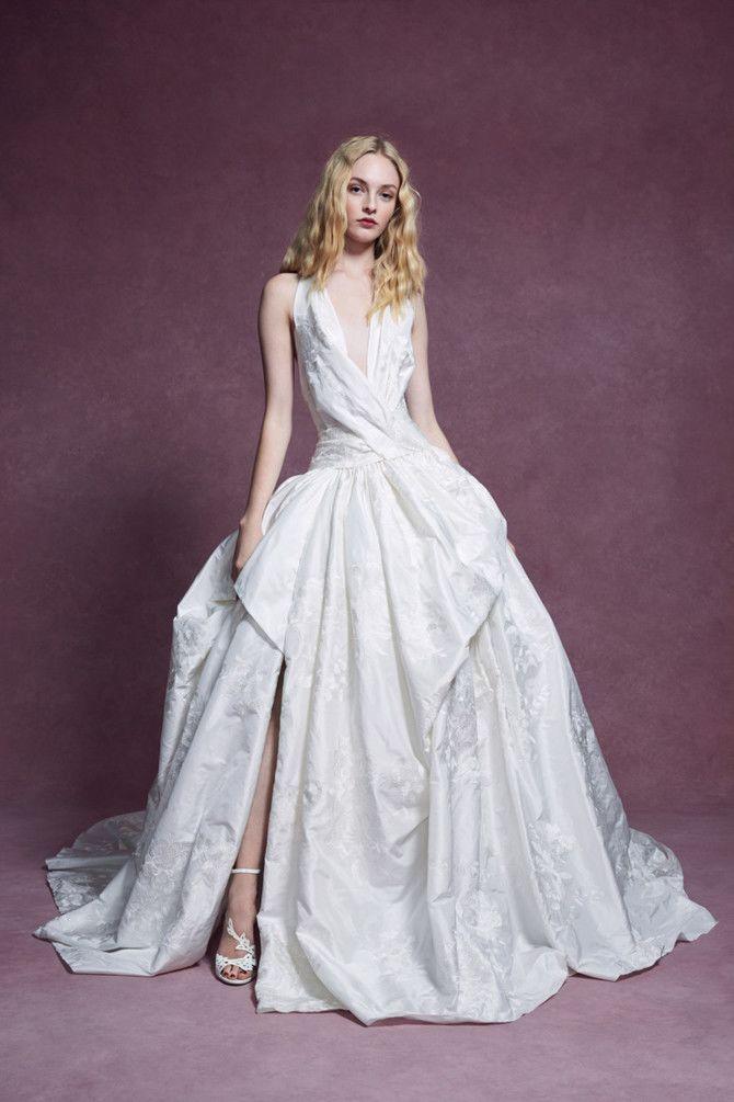 Как принцесса: пышные свадебные платья 2020-2021 20