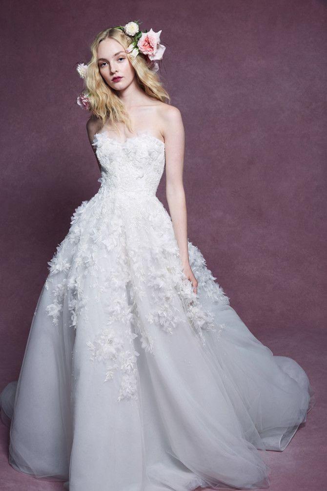 Как принцесса: пышные свадебные платья 2020-2021 21