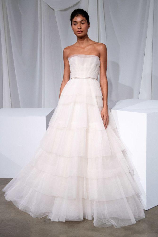 Как принцесса: пышные свадебные платья 2020-2021 22