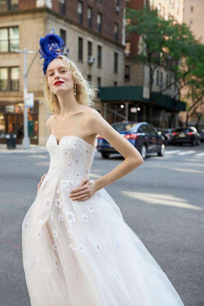 Как принцесса: пышные свадебные платья 2020-2021 26