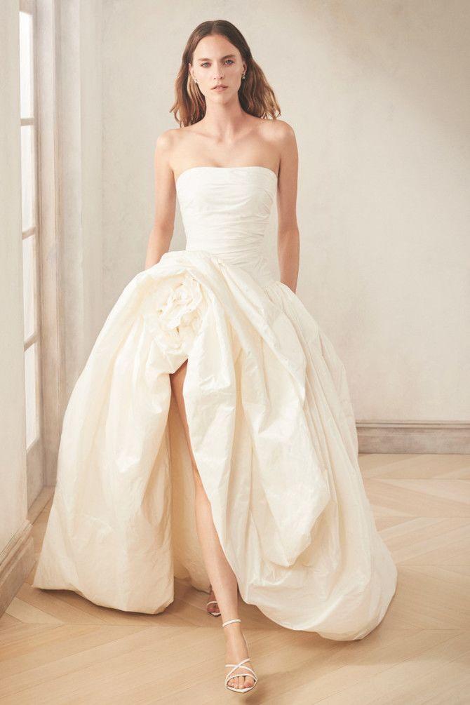 Как принцесса: пышные свадебные платья 2020-2021 29