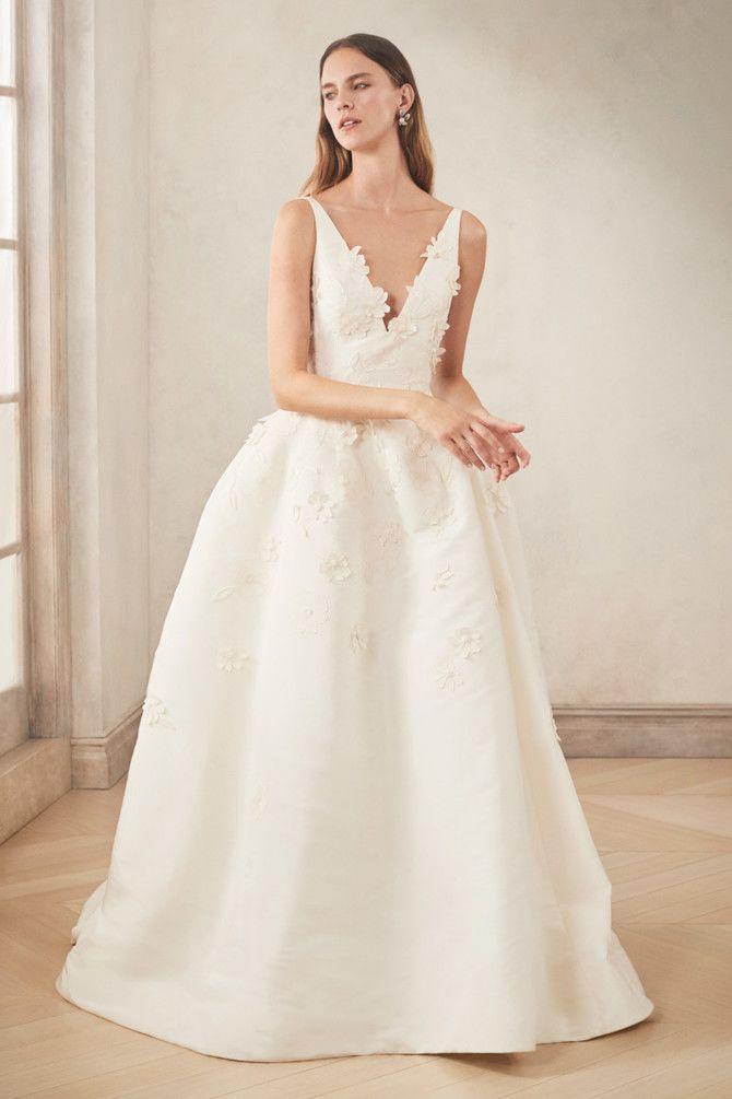 Как принцесса: пышные свадебные платья 2020-2021 31