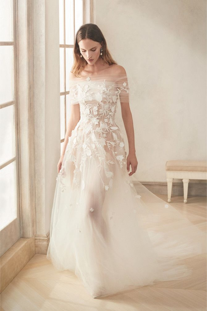 Как принцесса: пышные свадебные платья 2020-2021 32