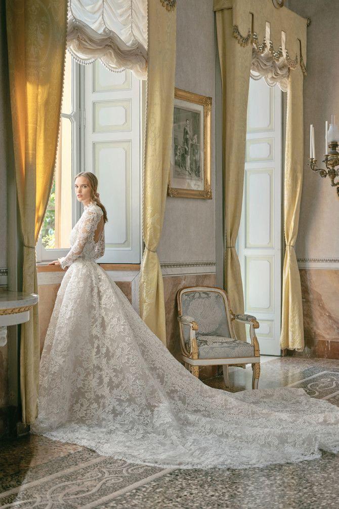 Как принцесса: пышные свадебные платья 2020-2021 4