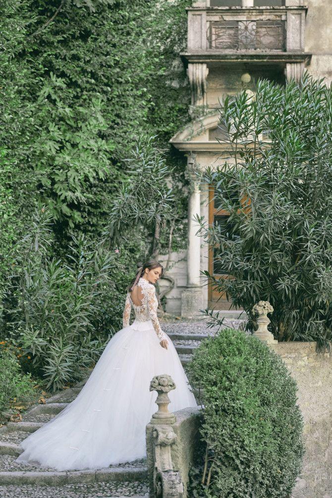 Как принцесса: пышные свадебные платья 2020-2021 5