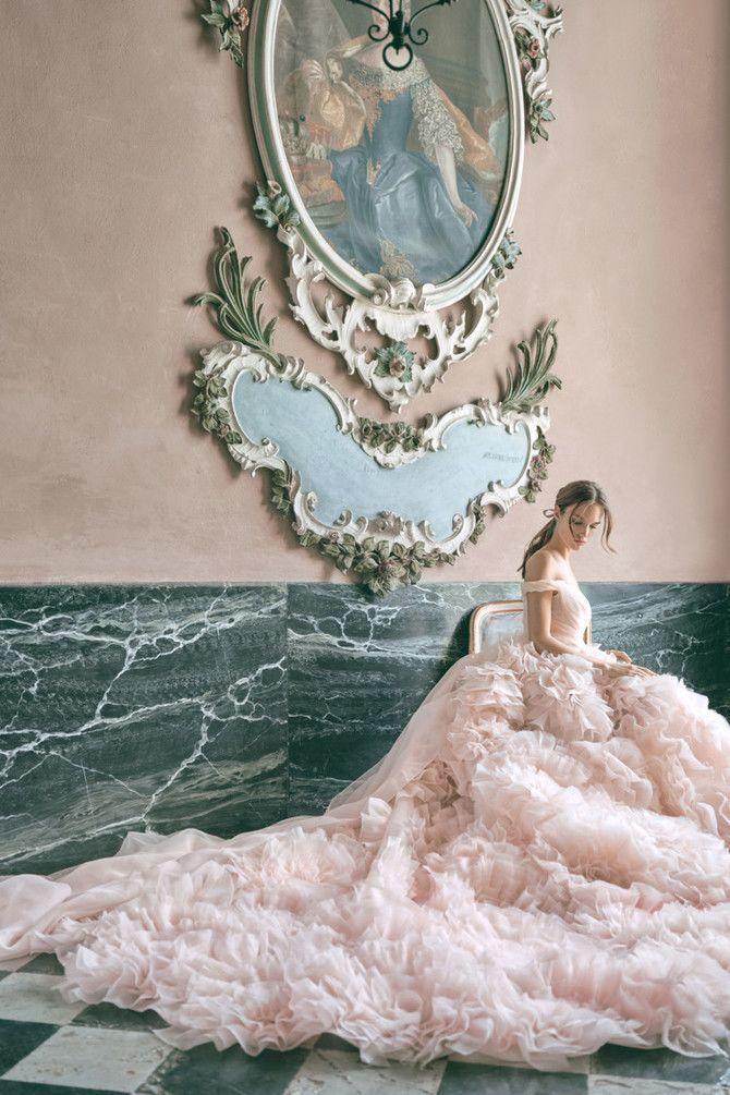 Как принцесса: пышные свадебные платья 2020-2021 6