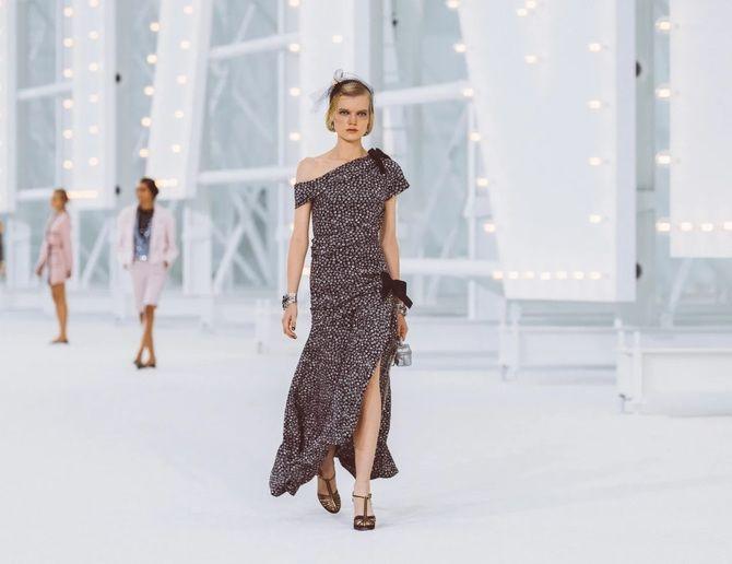 Шифоновые платья 2020-2021 6