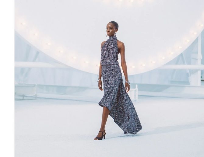 Шифоновые платья 2020-2021 7