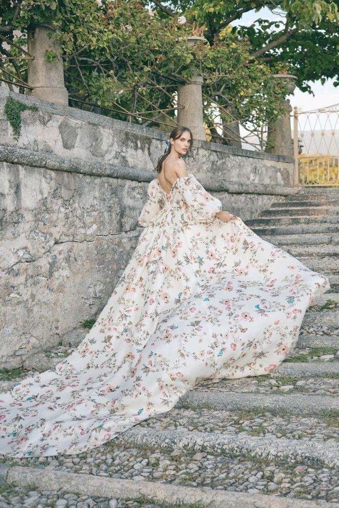 Как принцесса: пышные свадебные платья 2020-2021 8
