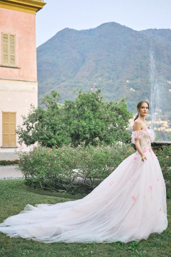 Как принцесса: пышные свадебные платья 2020-2021 9